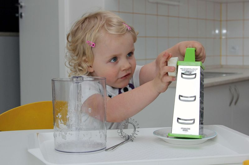 Praktický život - strouhání mýdla