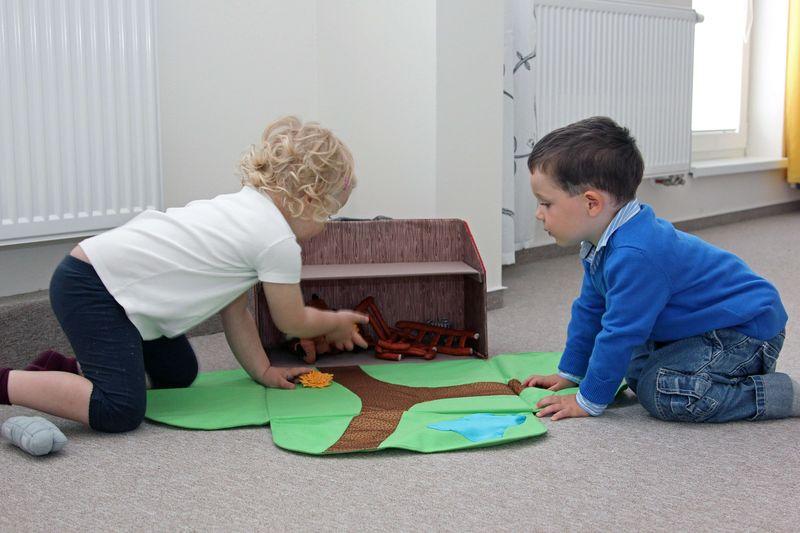 Práce dětí - farma