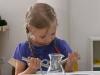 Praktický život - použití lisu na česnek